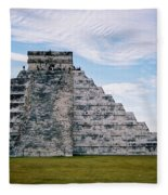 Chichen Itza 4 Fleece Blanket
