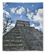 Chichen Itza 5 Fleece Blanket