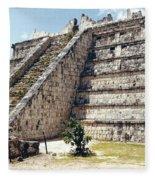 Chichen Itza Mexico 4 Fleece Blanket