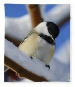Chickadee... Fleece Blanket