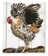 Chickens In Bird In Hand 2 Fleece Blanket
