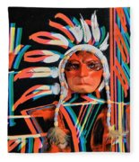 Chief Brill Yount Fleece Blanket