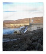 Chief Joseph Dam Fleece Blanket
