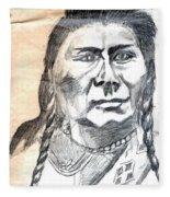 Chief Joseph Fleece Blanket