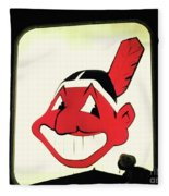 Chief Wahoo  Fleece Blanket