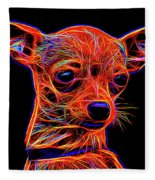 Chihuahua Dog Fleece Blanket