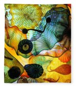 Chihuly's Ceiling Fleece Blanket