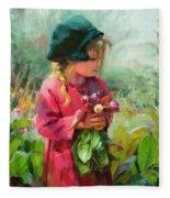 Child Of Eden Fleece Blanket