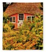 Children - The Children's Cottage Fleece Blanket