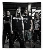 Children Of Bodom Fleece Blanket
