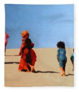 Children Of The Sinai Fleece Blanket