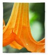 Children's Garden Angel's Trumpet Fleece Blanket