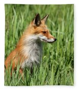 Chillin Vixen  Fleece Blanket