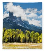 Chimney Rock Autumn Fleece Blanket