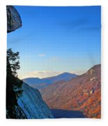 Chimney Rock  2 Fleece Blanket