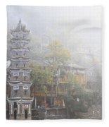 China City Fleece Blanket
