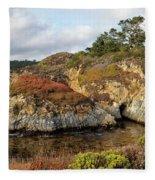 China Cove, Point Lobos Fleece Blanket
