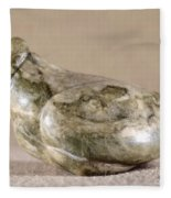 China: Neolithic Sculpture Fleece Blanket
