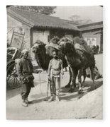 China: Peking, 1901 Fleece Blanket