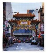 Chinatown - Philadelphia Fleece Blanket