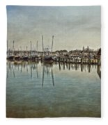 Chincoteague Bay Fleece Blanket