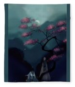 Chinese Ancient Style Fleece Blanket