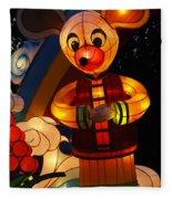 Chinese Lantern Festival British Columbia Canada 7 Fleece Blanket