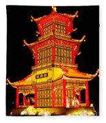 Chinese Lantern Festival British Columbia Canada 8 Fleece Blanket