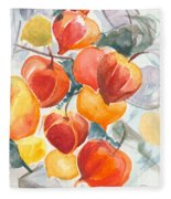 Chinese Lanterns - Symbol Of Friendship Fleece Blanket