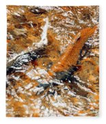 Chinook In Cottage Lake Creek Fleece Blanket