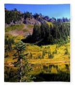 Chinook Pass Fleece Blanket