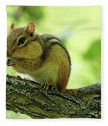 Chipmunk Cheeks Fleece Blanket