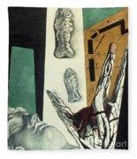 Chirico: Arch, 1914 Fleece Blanket
