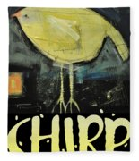 Chirp Fleece Blanket