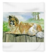Chisel Fleece Blanket