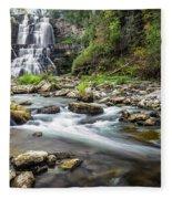 Chittenango Falls  Fleece Blanket
