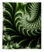 Chlorophyll Fleece Blanket