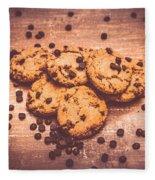 Choc Chip Biscuits Fleece Blanket