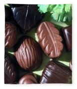 Chocolate Candy Fleece Blanket
