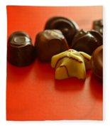 Chocolate Delight Fleece Blanket