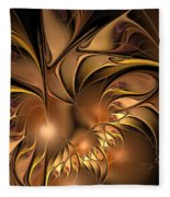 Chocolate Essence Fleece Blanket