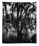 Chokoloskee Mangroves Fleece Blanket
