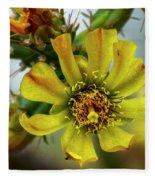 Cholla Flower H1848 Fleece Blanket
