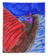 Choppy Waters Fleece Blanket