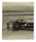 Vintage 1958 Chris Craft Fleece Blanket