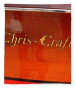 Chris Craft Logo Fleece Blanket