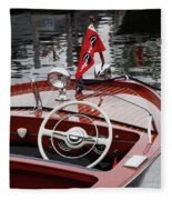 Chris Craft Sportsman Fleece Blanket