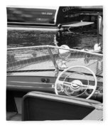 Chris Craft Utility Fleece Blanket