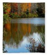 Chris Greene Lake - Reflections Fleece Blanket