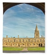 Christ Church College Oxford Fleece Blanket